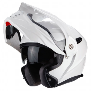 CASCO MOTO ENDURO/TOURING SCORPION ADX-1 SOLID PEARL WHITE