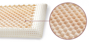Coppia Cuscini Memory Foam, Modello Saponetta AIR MASSAGE alti 12 cm, Doppia Fodera Silver e Cotone Naturale, Guanciali Letto ideali per Cervicale, Traspiranti Termosensibili Antiacaro