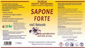 Energico sgrassante Multiuso Sapone Forte 1lt. DURGA