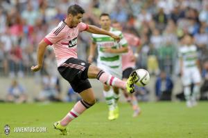 2015-16 Juventus Pantaloncini Away XL *CARTELLINO E CONFEZIONE