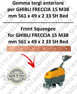 FRECCIA 15 M38 GOMMA TERGI anteriore per lavapavimenti GHIBLI