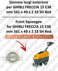 FRECCIA 15 E38 GOMMA TERGI anteriore per lavapavimenti  GHIBLI