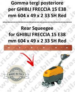 FRECCIA 15 E38 TERGI posteriore per lavapavimenti  GHIBLI