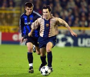 2001-03 BARCELONA MAGLIA AWAY L (Top)