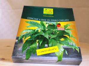 Concime rinverdente Chelato di ferro in polvere gr.50