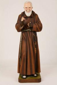 Statua Padre Pio in Resina DEC800 h. 60