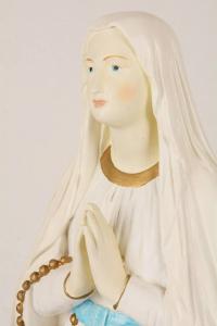 Statua Madonna di Lourdes in Resina PISCAS7-65 h. 65