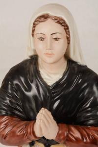 Statua Santa Bernadette in porcellana PIN-B40 h. 40
