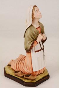 Statua Santa Bernadette in Resina h. 30 PASQPA298