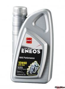 Olio Eneos 10 W 40 sintetico 100% 1 Litro moto 4T