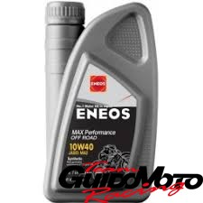 Olio Eneos 10W40 sintetico 100% 1 Litro moto 4T Offroad supermotard