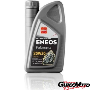 Olio Eneos minerale 20w50 moto 4T  Performance 1 Litre  engine oils