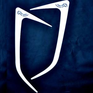 VOLVO Profili prese d'aria con decorazione Freccia