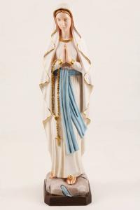 Statua Madonna di Lourdes in Resina h. 60 PASQPA601