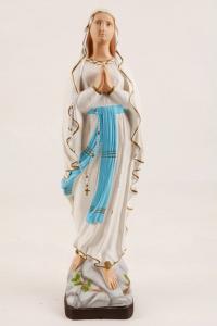 Statua Madonna di Lourdes in gomma FA1231-50 h. 50