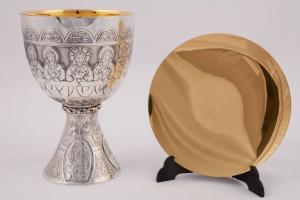 Calice Coppa Argento con Patena MOLACE5050