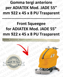 Gomma tergi anteriore per lavapavimenti ADIATEK - JADE 55