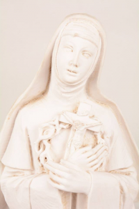 Statua Santa Rita in resina h. 50 PASQ PA901B