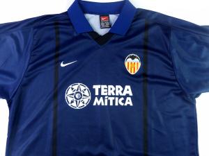 2000-01 Valencia Maglia Away XL (Top)