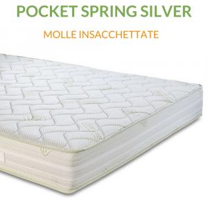 Materasso a molle insacchettate H23 | Pocket Spring Silver |Prezzi a partire da
