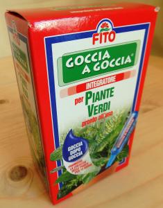 Fito fiale integratore goccia a goccia piante verdi ml.32