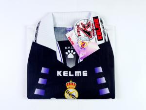 1997-98 Real Madrid Maglia Terza L *Cartellino e confezione