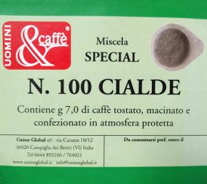 Cialde Caffè Special -  100 Pezzi