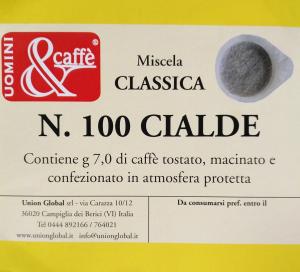 Cialde Caffè Classiche -  100 Pezzi