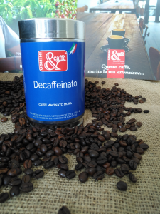 Miscela di Caffè Macinato Moka DECAFFEINATO