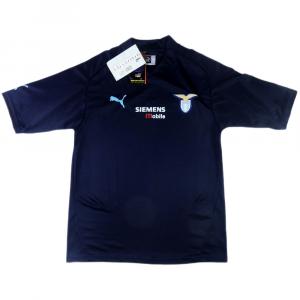 2001-02 Lazio Maglia Terza M *CARTELLINO