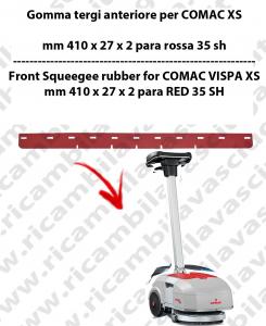 VISPA XS Gomma tergipavimento anteriore per lavapavimenti COMAC
