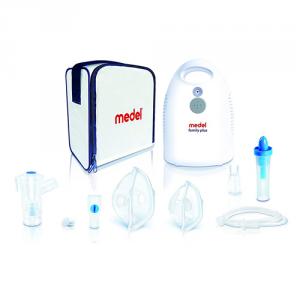 Sistema per Aerosol terapia con doccia nasale Medel Family Plus