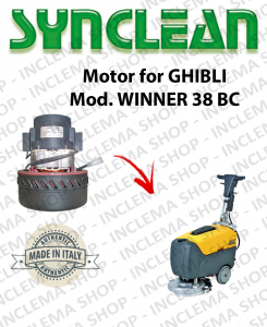 WINNER 38 BC Motore aspirazione Synclean per Lavapavimenti Ghibli