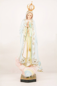 Statua Madonna di Fatima in vetroresina FA85 h. 85