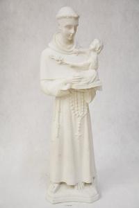 Statua Sant'Antonio in polvere di marmo DEC38-56