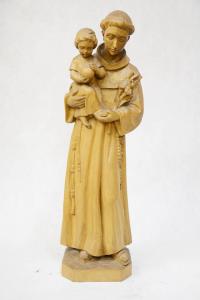 Statua Sant'Antonio in legno VALGSA50 h. 50
