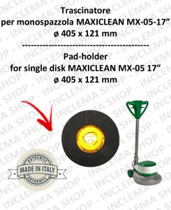 TRASCINATORE per monospazzola MAXICLEAN MX-05 17