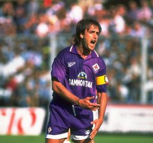 1995-96 Fiorentina Pantaloncini Home Match Worn XL
