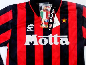 1993-94 Ac Milan Maglia Home S  *CARTELLINO