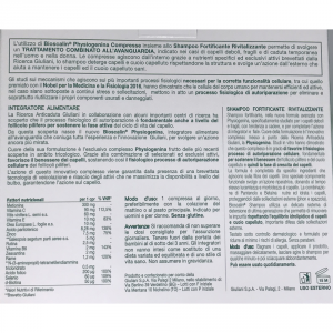BIOSCALIN PHYSIOGENINA  30 COMPRESSE + SHAMPOO FORTIFICANTE IN OMAGGIO