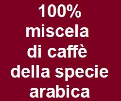 78 capsule caffè compatibili Lavazza A Modo Mio miscela tepore 100% arabica