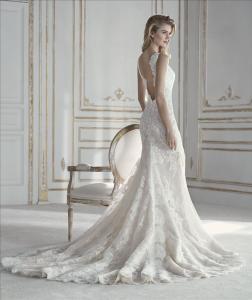 Abito sposa con spacco mod. PARIS LA SPOSA
