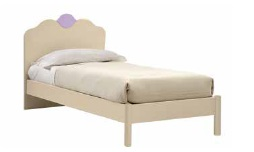LETTO CON GIROLETTO IVORY
