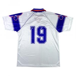 1996-97 Fiorentina Maglia Away #19 Padalino MATCH WORN XL