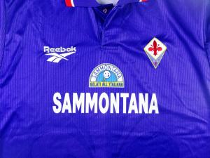 1996-97 Fiorentina Maglia Home  MATCH Issue XL ( Top)