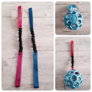Maniglia elastica con palla bucata