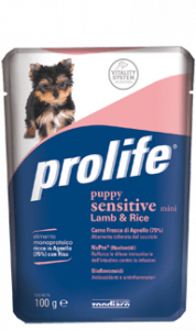 PROLIFE PUPPY SENSITIVE MINI LAMB & RICE