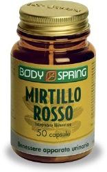 BODY SPRING MIRTILLO ROSSO 50 CAPSULE