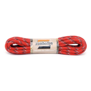 ZAMBERLAN® REPLACEMENT ROUND LACES      -     Red / Black