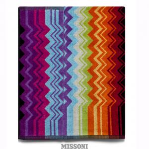 Missoni Home bath sheet Giacomo T59 zig zag multicolor